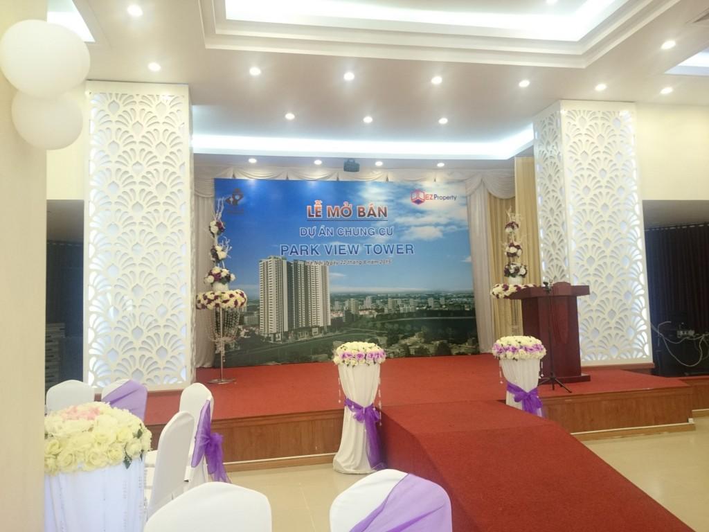 Hình ảnh buổi lễ mở bán chung cư Đồng Phát Park View